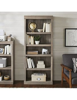 better-homes-&-gardens-glendale-5-shelf-bookcase,-rustic-gray-finish by better-homes-&-gardens