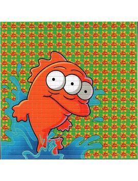 Blinky Fish The Simpsons Blotter Art Homer Bart  Fear And Loathing Acid Art Paper  Psychedelic Lsd Sheet Tabs by Etsy