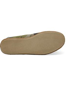 Washed Camp Crepe Wrap Men's Cordones by Toms
