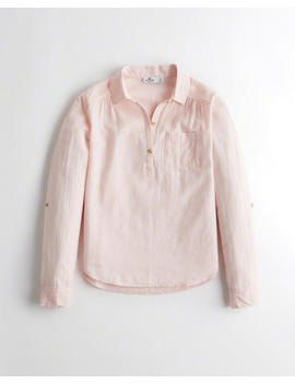 Popover Shirt by Hollister