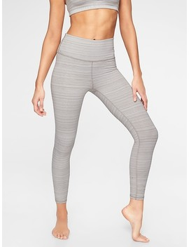 High Rise Jacquard Chaturanga™ 7/8 Tight by Athleta
