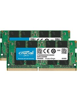 Crucial 32 Gb Kit (16 G Bx2) Ddr4 2400 Mt/S (Pc4 19200) Dr X8 Sodimm 260 Pin Memory   Ct2 K16 G4 Sfd824 A by Crucial
