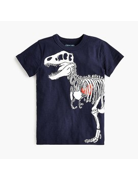Kids' Dino Heart T Shirt by J.Crew