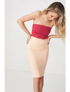 Party Midi Bodycon Skirt by Cotton On