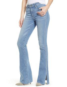 Transcend Vintage   Lou Lou High Waist Flare Jeans by Paige