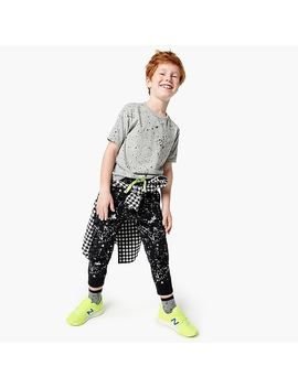 Boys' Splatter Painted Sweatpant by J.Crew