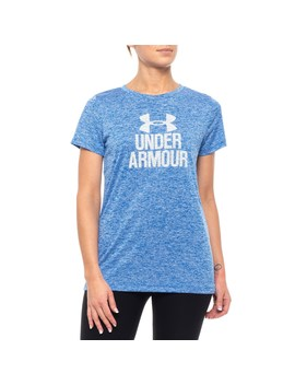 Under Armour Tech Graphic T Shirt   Short Sleeve (For Women) by Under Armour