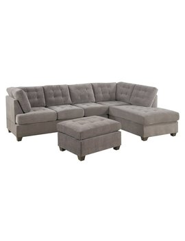 Worksop Reversible Sectional by Allmodern