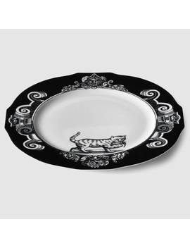 Cat Charger Plate, Set Of Two by Gucci