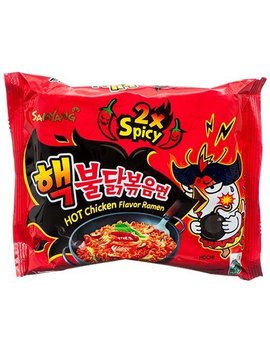 Samyang Bulldark Spicy Chicken Roasted Noodles, 4.93 Oz by Samyang