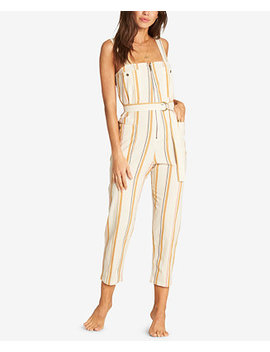 Juniors' Light The Night Striped Jumpsuit by Billabong