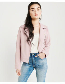 Drapey Moto Jacket by Abercrombie & Fitch
