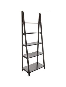 Black Modena Five Tiered Shelf Rack by Hobby Lobby