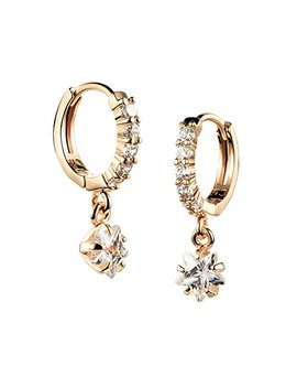 Tidoo Jewelry Charming Crystal Drop Earrings   Girl's 18k Gold Plated Dangle Earring by Tidoo Earrings