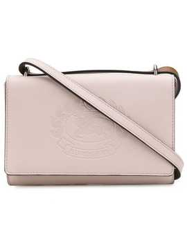 Embossed Logo Crossbody Bag by Burberry