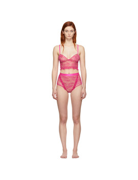 Pink Two Piece Bodysuit by Off White