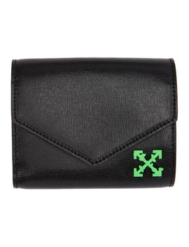Black Small Wallet by Off White