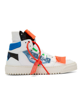 White & Blue 3.0 Off Court by Off White