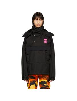 Black Ski Anorak Jacket by Off White