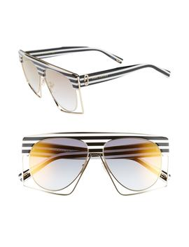 58mm Flat Top Sunglasses by Marc Jacobs