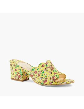 Isa Tapia™ Chiqui Open Toe Mules by J.Crew