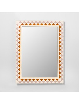 Pieced Triangle Frame Decorative Wall Mirror   Opalhouse™ by Shop This Collection