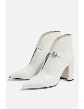 Halo High Ankle Boots by Topshop