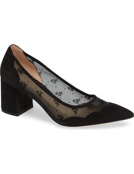 Whitley Scallop Pointy Toe Pump by Coach