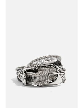 Mesh Western Belt by Topshop