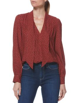 Peteluma Tie Neck Blouse by Paige