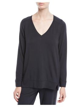 Fianna V Neck Lounge Top by Skin