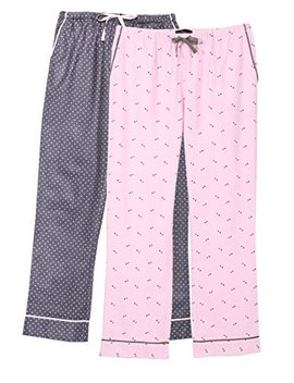 Noble Mount Womens Premium 100 Percents Cotton Flannel Lounge Pants by Noble Mount