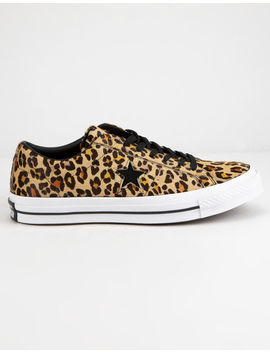 Converse One Star Ox Leopard Shoes by Converse