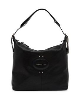 Quadri Leather Hobo Bag by Longchamp
