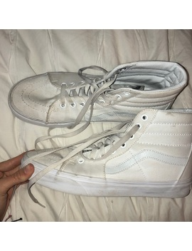 White High Top Vans by Vans