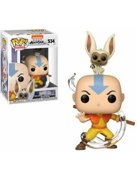 Funko Pop! Animation: Avatar   Aang With Momo by Fun Ko