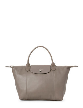 Le Pliage Cuir Small Satchel by Longchamp