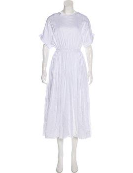 Midi Poplin Dress by Black Crane