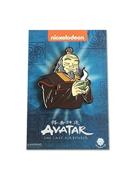 "Avatar: The Last Airbender   Tea Time With Iroh   1.75"" Collectible Pin by Zen Monkey Studios"