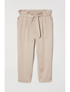 H&M+ Paper Bag Trousers by H&M