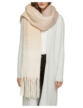 Maribel Oversized Fringed Scarf by Soia & Kyo