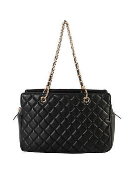 Multi Compartment Quilted Tote by Diophy
