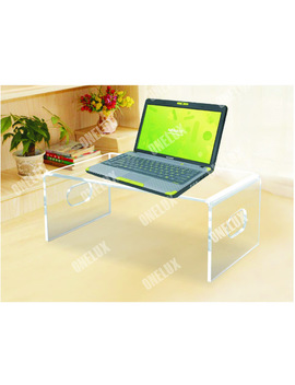 Desktop Acrylic Laptop Stand,Computer Monitor Stand,Lucite Pc Desk U Shape One Lux by One Lux