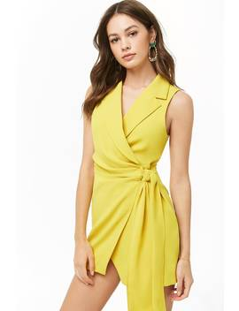 Mini Wrap Dress by Forever 21