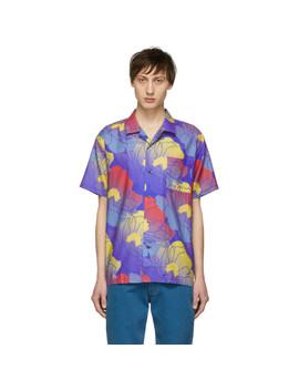 Multicolor Fast Paradise Hawaiian Shirt by Double Rainbouu