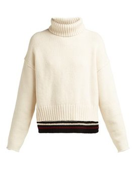 Roll Neck Knit Sweater by Proenza Schouler