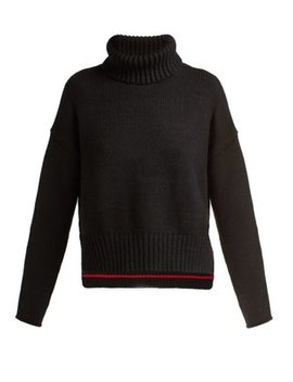 Ribbed Roll Neck Sweater by Proenza Schouler