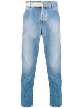 Belted Straight Leg Jeans by Off White