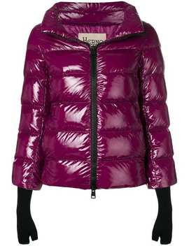 Slim Fit Puffer Jacket by Herno