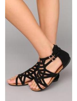 Frenemy Sandal   Black by Fashion Nova